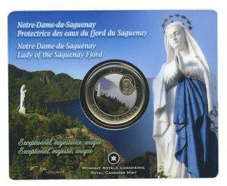 2009 Canada 25 Cents - Notre-Dame-du-Saguenay