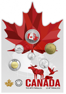 2018 - From Far and Wide - Canadian Circulation 6-Coin Set