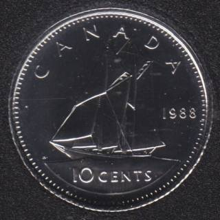 1988 - NBU - Canada 10 Cents