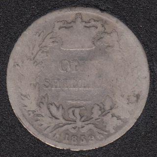 1859 - Shilling - Great Britain