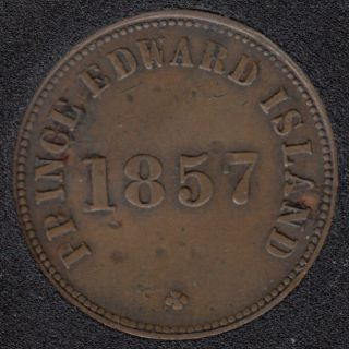 P.E.I. 1857 Self Government and Free Trade  - VF - PE-7C1