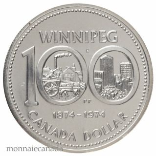 1974 DOLLAR EN ARGENT SPECIMEN