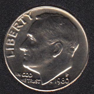 1980 P - Roosevelt - B.Unc - 10 Cents