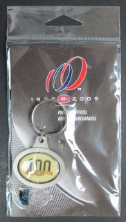 2009 - 1909 - Montreal Canadiens NHL - Spinning Keychain