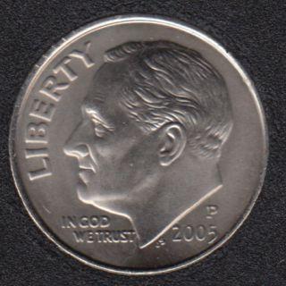 2005 P - Roosevelt - B.Unc - 10 Cents