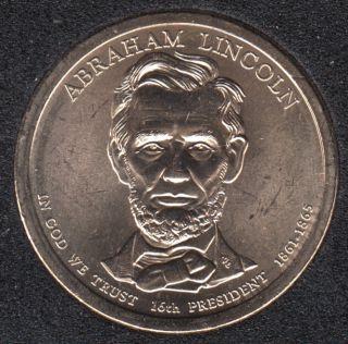 2010 P - A. Lincoln - 1$