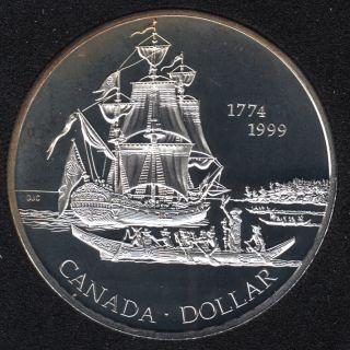 1999 - Proof - Argent  - Canada Dollar