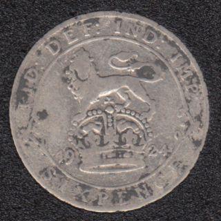 1924 - 6 Pence - Grande Bretagne