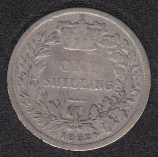 1852 - Shilling - Great Britain
