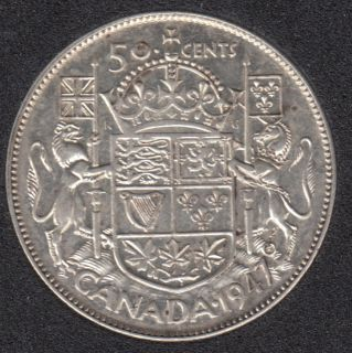 1947 - Straight '7' - VF - Canada 50 Cents