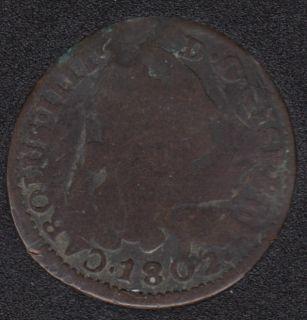 1802 - 4 Maravedis - Espagne