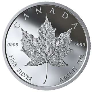 2019 - Proof - Maple Leaf in Fine Silver - Medaillon