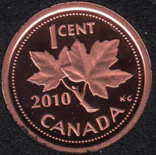 2010 - Proof - Canada Cent
