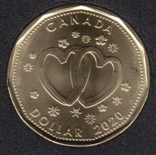 2020 - B.Unc - Mariage- Canada Dollar