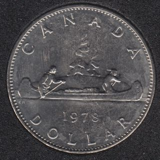 1978 - B.Unc - Nickel - Canada Dollar