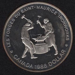 1988 - Proof - Canada Silver Dollar