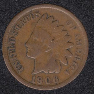 1906 - Indian Head Small Cent