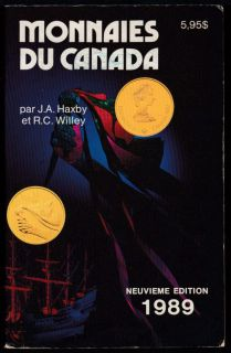 1989 - Monnaies du Canada - Haxby Willie - Usagé
