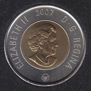 2007 - B.Unc - Canada 2 Dollars