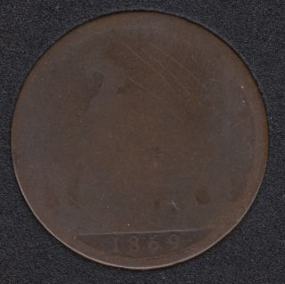 1869 - Penny - Great Britain