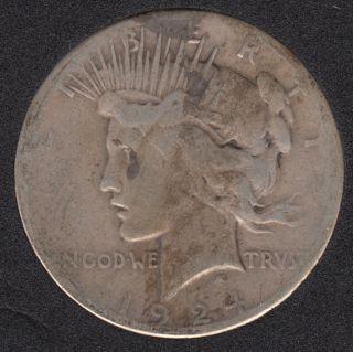 1924 S - Peace - Dollar