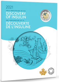 2021 - Discovery of Insulin - Commemorative Collector Keepsake