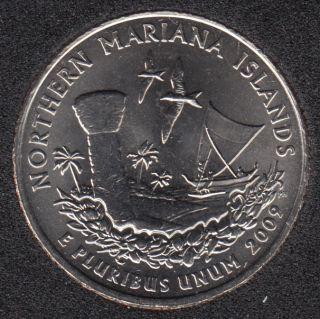 2009 D - Mariana Islands - 25 Cents