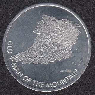 Old Man of The Mountain - New Hampshire Lottery