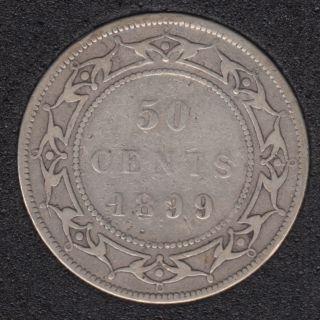 Terre Neuve - 1899 - N '9' - 50 Cents