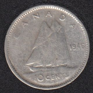 1946 - Canada 10 Cents