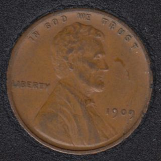 1909 VDB - Lincoln Small Cent