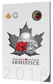 2018 - Armistice Commemorative Collector Keepsake set
