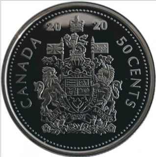 2020 - Proof - Canada 50 Cents