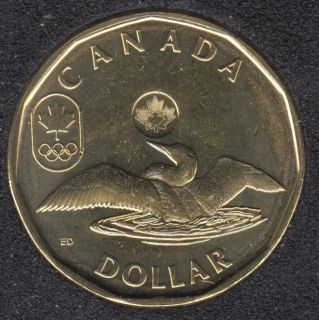 2012 - B.Unc - Huard Chanceux - Canada Dollar