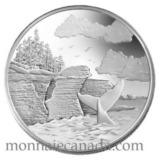 2005 $20 Fine Silver Coin - National Parks - Mingan Archilepago - Tax Exempt