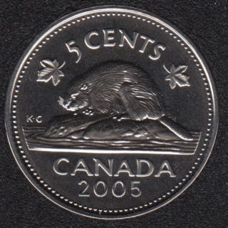 2005 P - Specimen - Canada 5 Cents