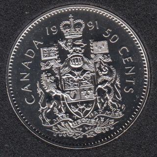 1991 - NBU - Canada 50 Cents
