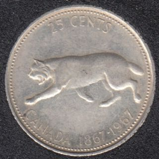 1967 - Canada 25 Cents