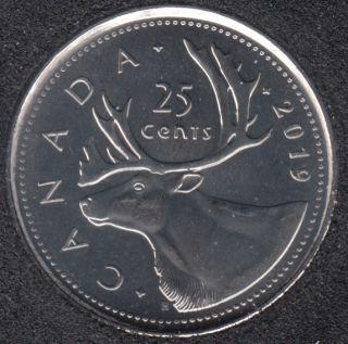 2019 - B.Unc - Canada 25 Cents