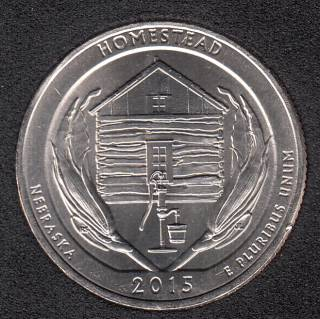 2015 P - Homestead - 25 Cents