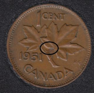 1951 - Double ML - Canada Cent