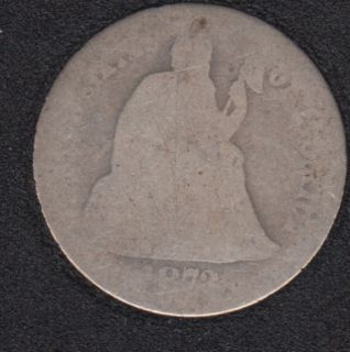 1872 - Liberty Seated - 10 Cents