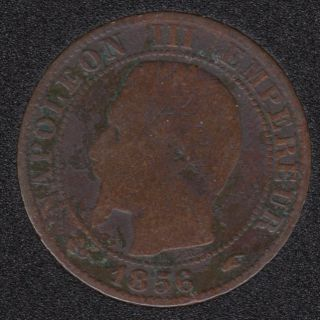 1856 A - 5 Centimes - France