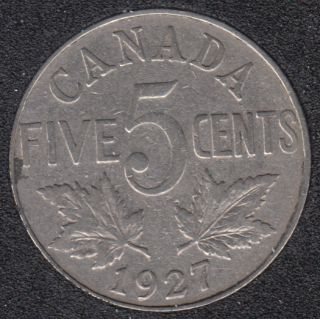 1927 - Canada 5 Cents