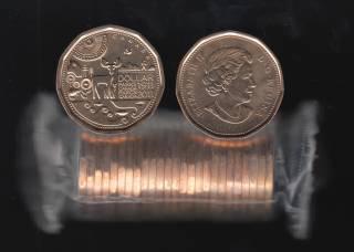 2011 Canada Roll $1 Dollar - Parks Canada - 25 Coins - UNC