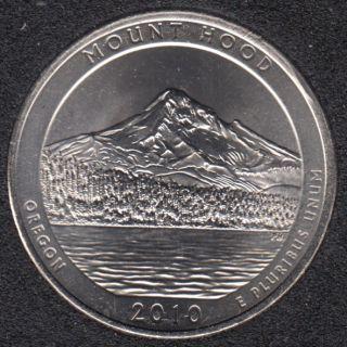 2010 D - Mount Hood - 25 Cents