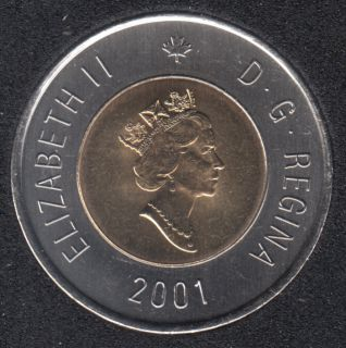 2001 - B.Unc - Canada 2 Dollars