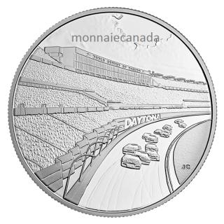 2016 - DAYTONA Rising: NASCAR® 1/2 oz. Fine Silver Medallion
