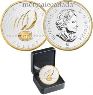 2009 Special Edition Proof Silver Dollar – Montreal Canadiens® Centennial