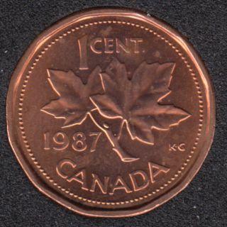 1987 - B.Unc - Canada Cent